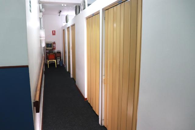 Gabinetes de terapia física